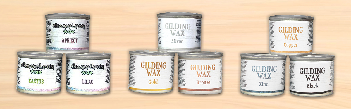 Add shimmer and shine to your project with our specialty waxes